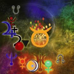 Nouvelle lune Taureau 2020 04-23 ©astre-logos.fr